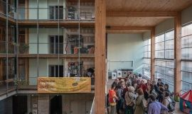 Visitas a un edificio en el Open House BCN de 2019 / EUROPA PRESS