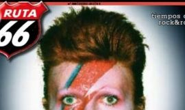 David Bowie en la portada de la revista de rock Ruta66 / DIRTY ROCK