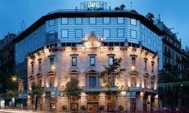 Hotel Claris, en Barcelona / Foto cedida por Derby Hotels Collection a EFE