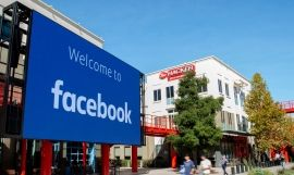 La sede central de Facebook en Menlo Park, California, en 2019 / AFP
