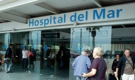 Acceso al Hospital del Mar / EFE