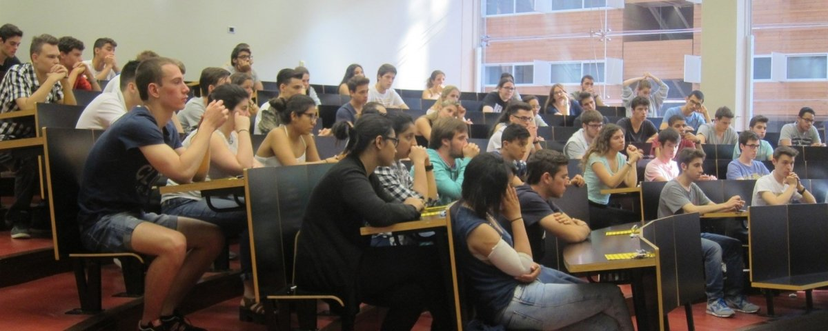 Clase de universidad /Europa Press