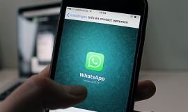 La app Whatsapp en un dispositivo móvil