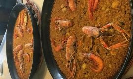 Paellas del restaurante Can Solé