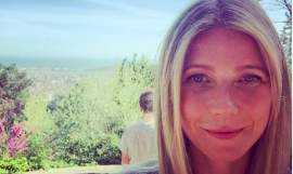 Gwyneth Paltrow en Collserola / Instagram