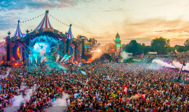 Escenario de Tomorrowland / PARTNER TOMORROWLAND
