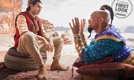 Mena Massoud y Will Smith