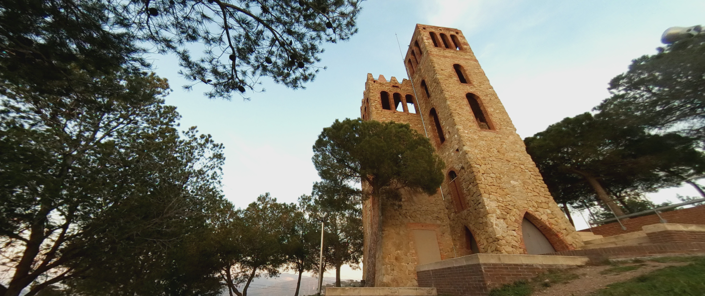 Castillo de Torre Baró / Drone Projects - Google Street View