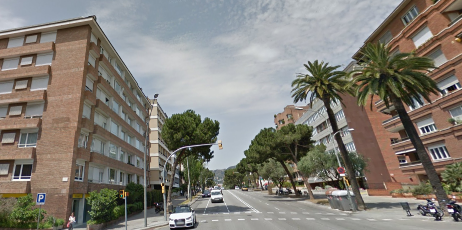 Via Augusta de Barcelona / GOOGLE STREET VIEW