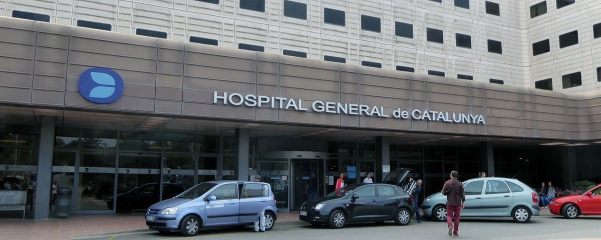 Entrada del Hospital Universitari General de Catalunya