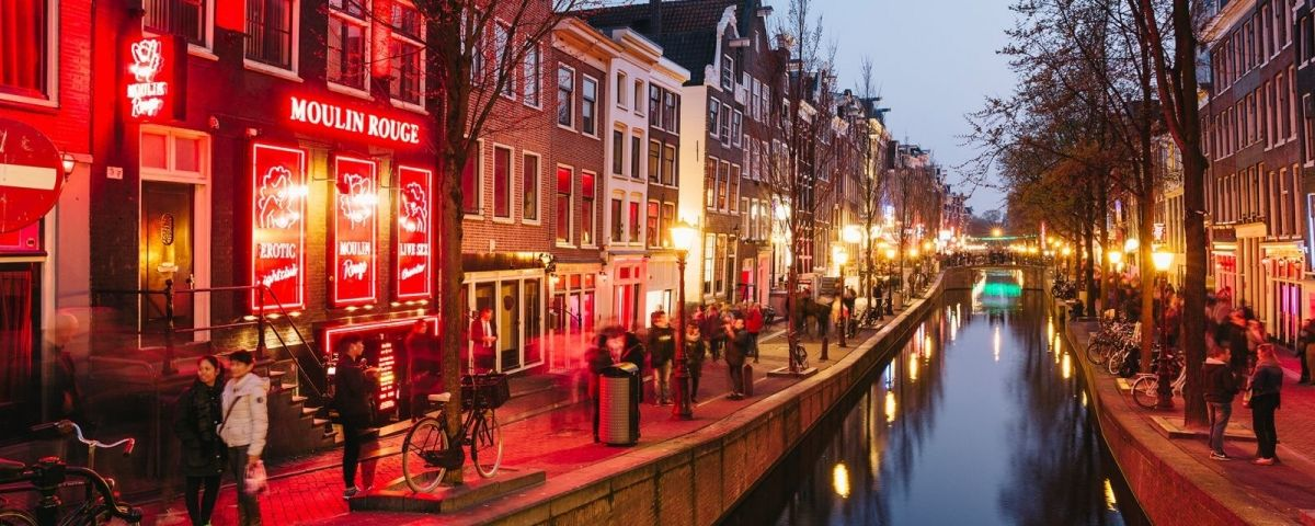 Barrio Rojo de Ámsterdam / GETTY IMAGES