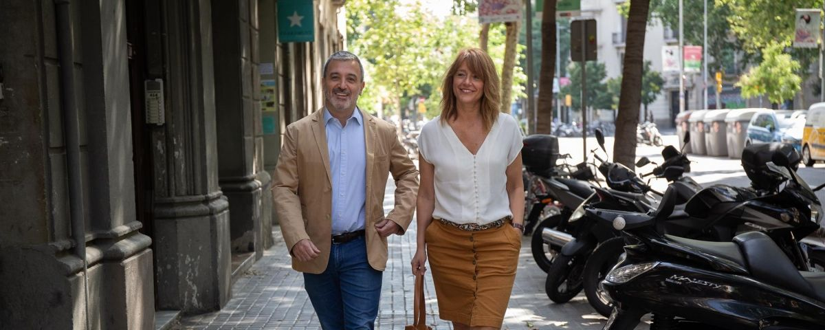 Los socialistas Jaume Collboni y Laia Bonet / David Zorrakino- Europa Press