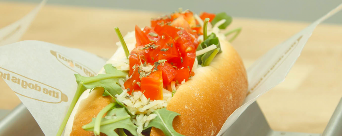 'Hot dog' de The Hot is Dog, un 'fast food' vegano / THE HOT IS DOG