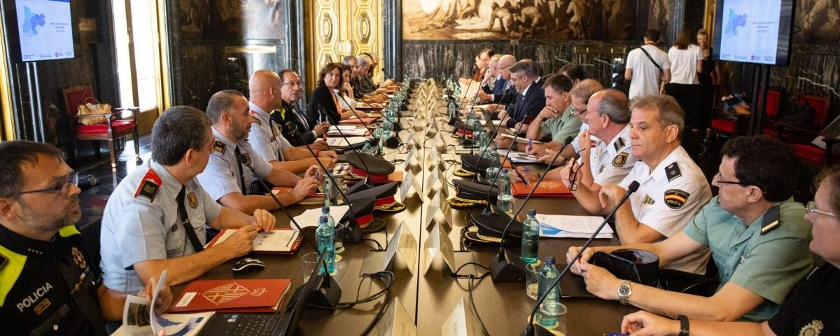 Junta de Seguridad Local de Barcelona / EUROPA PRESS