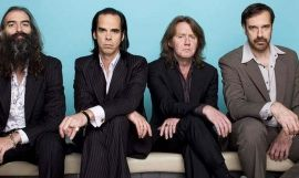 Nick Cave and the Bad Seeds en una imagen promocional para su gira europea, en la que debían actuar en Barcelona