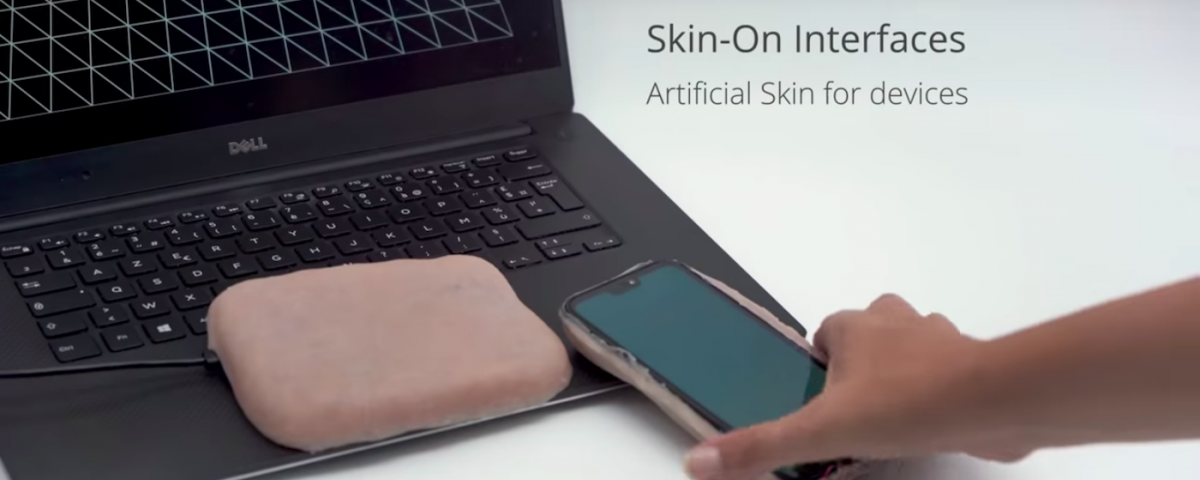 Fundas de piel artificial inventadas en una universidad de París / SKIN-ON