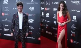 Alfred García y Ana Guerra en la Gala People in Red 2018 de Barcelona