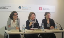 Mercè Massa, Maria Jesús Mier y Laia Ortiz / EUROPA PRESS