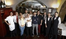 'Staff' del restaurante Passadís del Pep de Barcelona / EUROPA PRESS