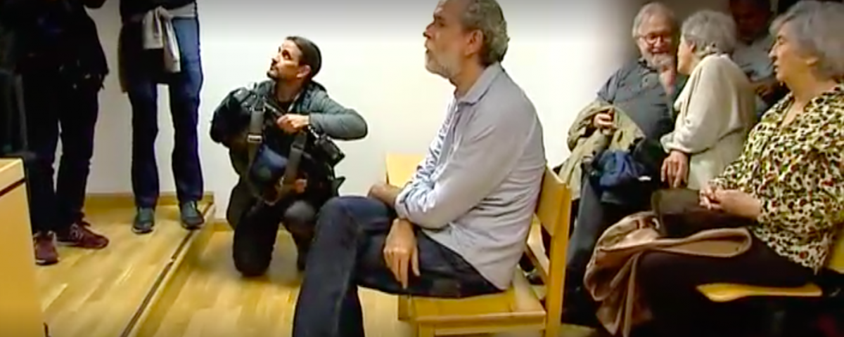 El actor Willy Toledo en el juicio / EUROPA PRESS