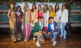 Influencers durante un evento patrocinado por 21 Buttons