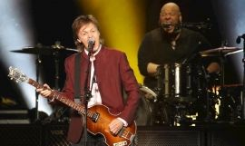 Paul McCartney, en un concierto / EUROPA PRESS