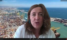 La presidenta del Port de Barcelona, Mercè Conesa / EUROPA PRESS