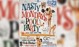 Cartel de la edición 'Pool party' de los 'Nasty Mondays' / NASTY GARAGE