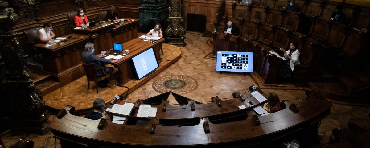 Pleno municipal de Barcelona / EUROPA PRESS