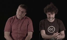 Xavier Artigas y Xapo Ortega, directores del documental 'Ciutat Morta' / YOUTUBE